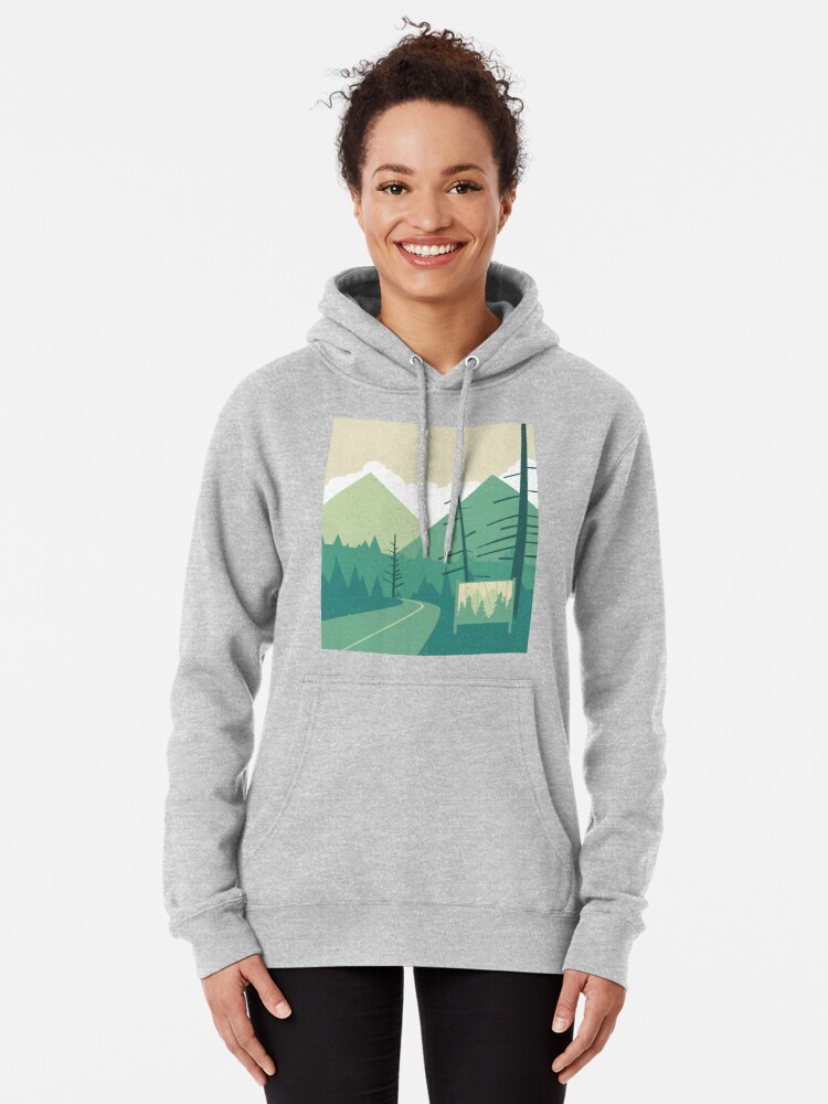 Alternate view of Welcome to Twin Peaks Pullover Hoodie