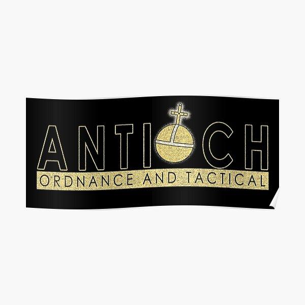 Antioch Ordnance Poster