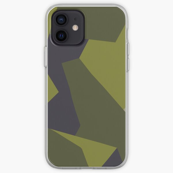 M90 Camo Pattern iPhone Soft Case