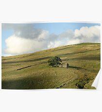 Yorkshire Barn overlooking Dentdale Poster
