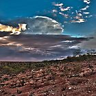 Clouds Over The Hedland by Heather Linfoot