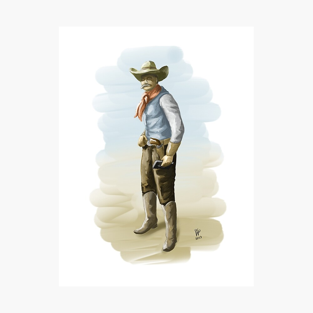 The Outlaw's Bible Concept Illustration Photographic Print