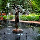 """""""IN THE WIND"""" - FOUNTAIN by Larry Trupp"""