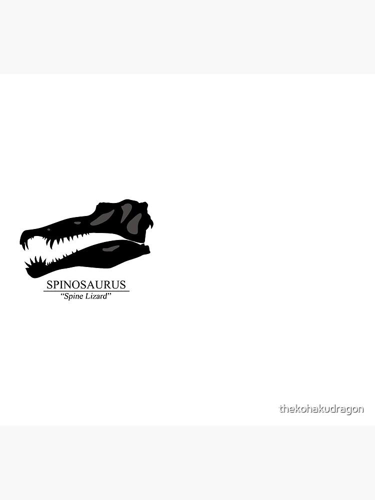 Spinosaurus Skull by thekohakudragon