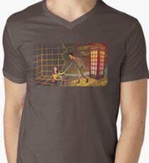 Let's Go - Abed & Annie Men's V-Neck T-Shirt