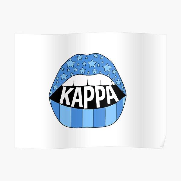 Kappa Lips Poster