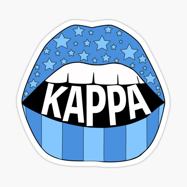Kappa Lips Sticker