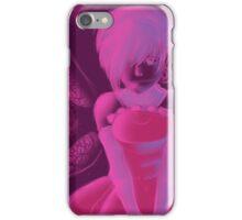 Monochrome Girl - Fille monochrome iPhone Case/Skin