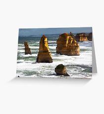 12 Apostles - Great Ocean Rd Victoria Greeting Card