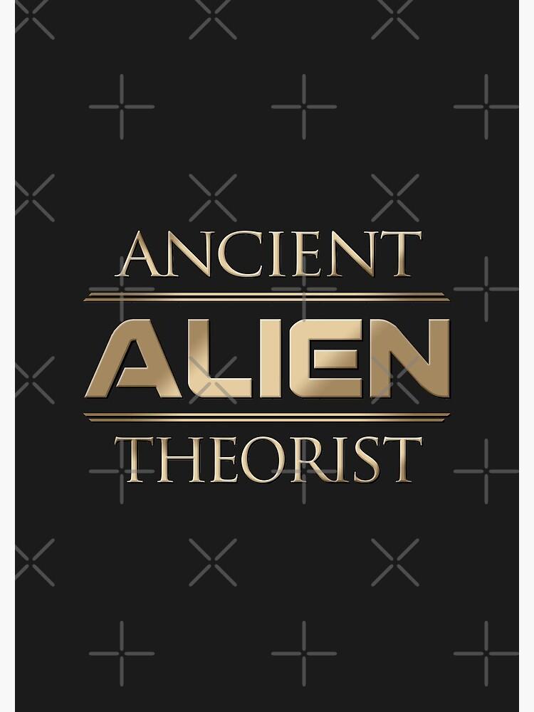 Ancient Alien Theorist by boxsmash