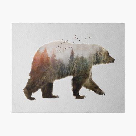 Bear Art Board Print
