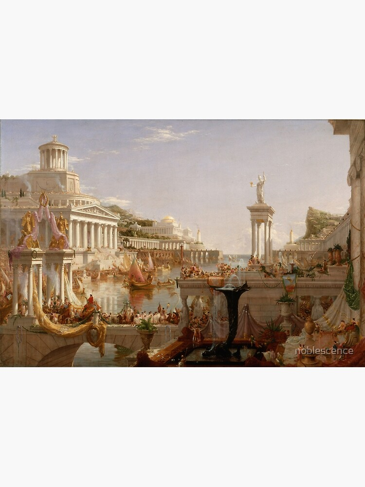 Thomas Cole - The Consummation - The Course of Empire by noblescence