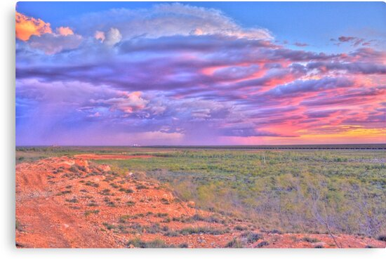 Cloudy Sunset by Heather Linfoot