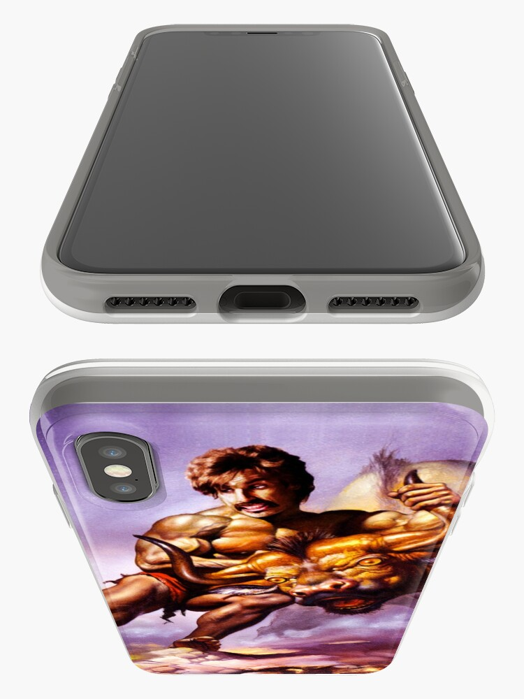 Alternate view of Dodgeball Painting iPhone Case & Cover
