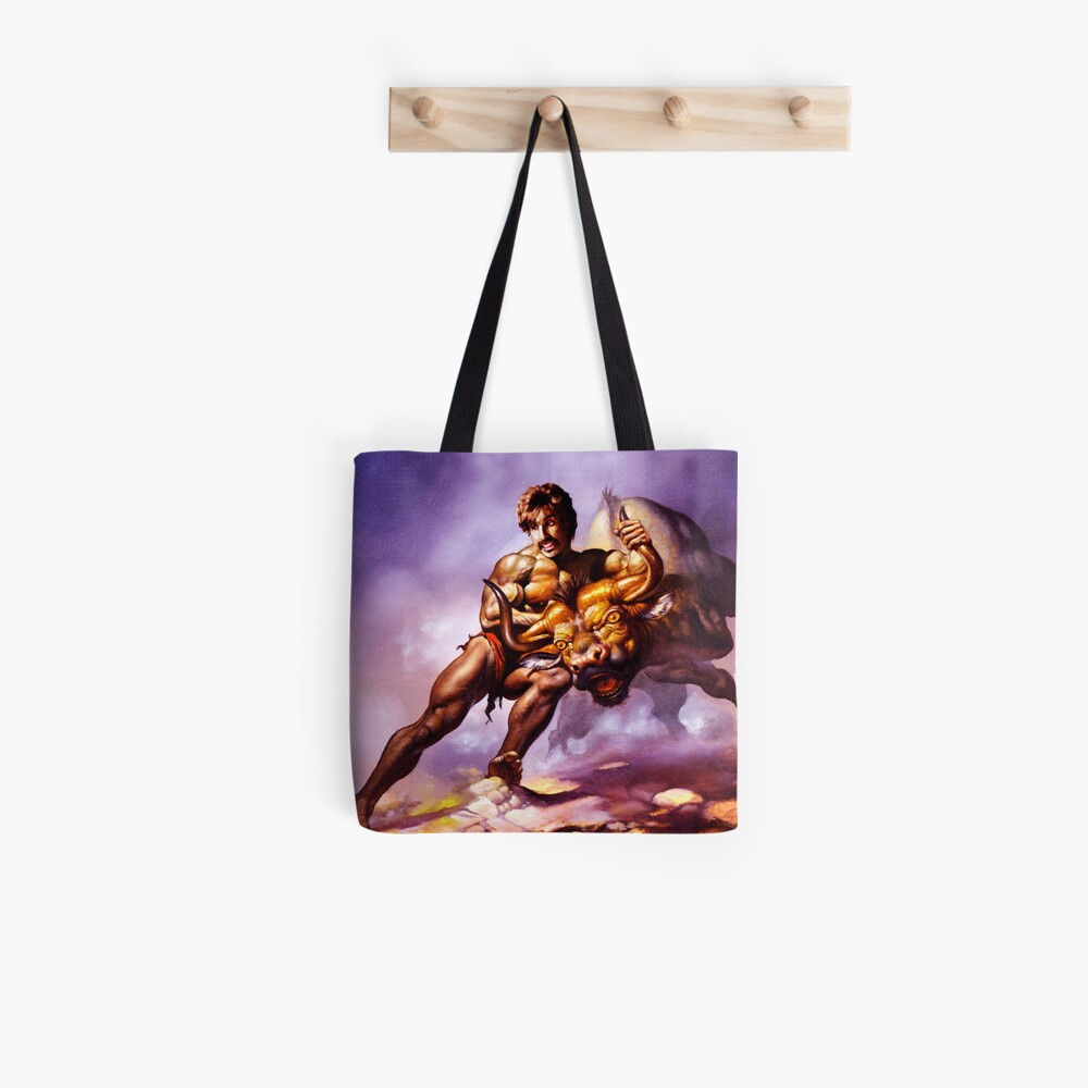 Dodgeball Painting Tote Bag