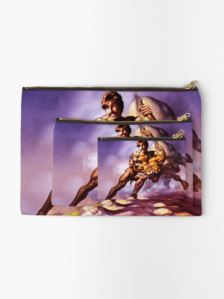 Alternate view of Dodgeball Painting Zipper Pouch