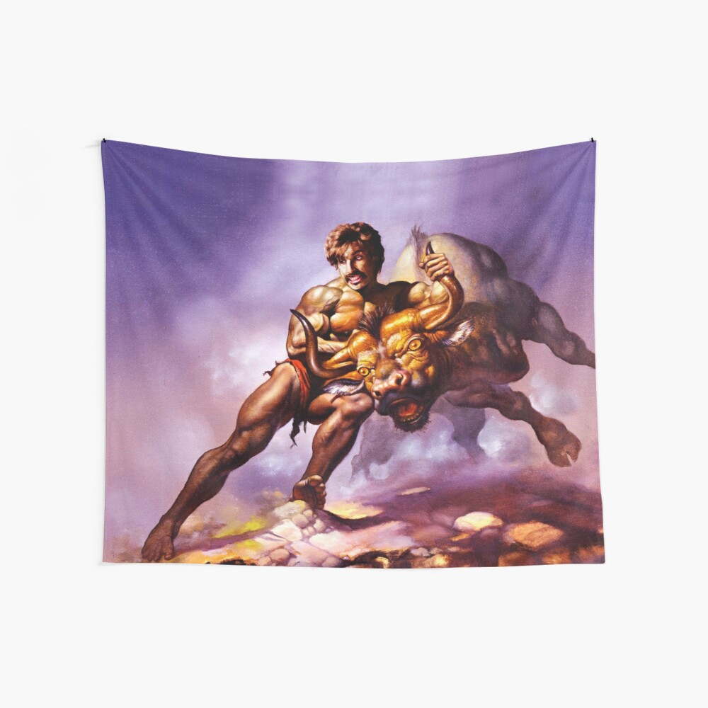 Dodgeball Painting Wall Tapestry