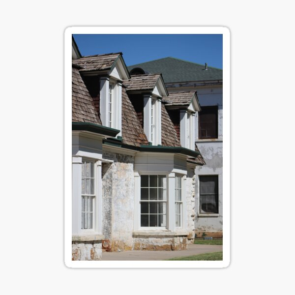 Historic Hospital at Fort Stanton New Mexico Sticker