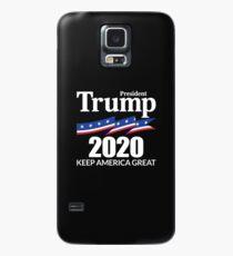 Präsident Trump 2020 - Amerika groß halten Hülle & Klebefolie für Samsung Galaxy