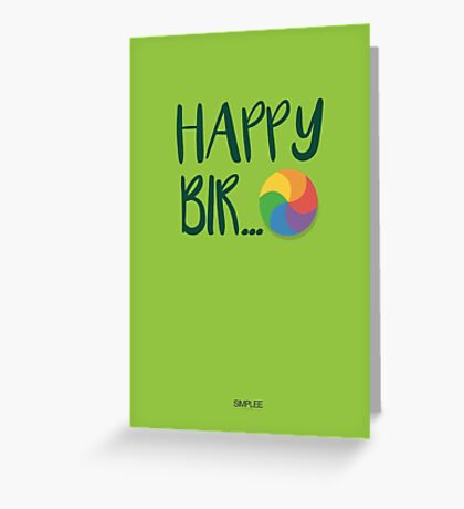 Simplee Cards: Happy Loading Greeting Card