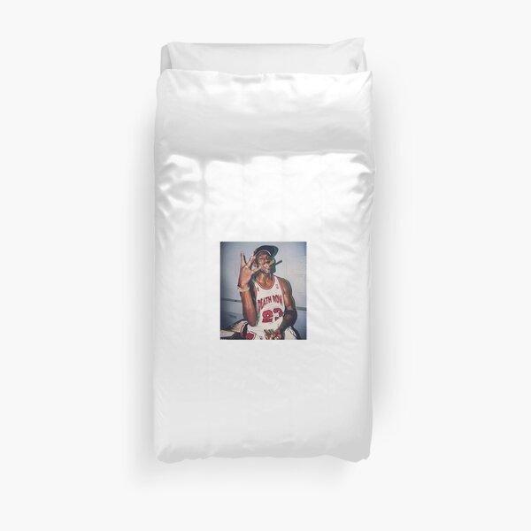 2pac Michael Jordan  Duvet Cover