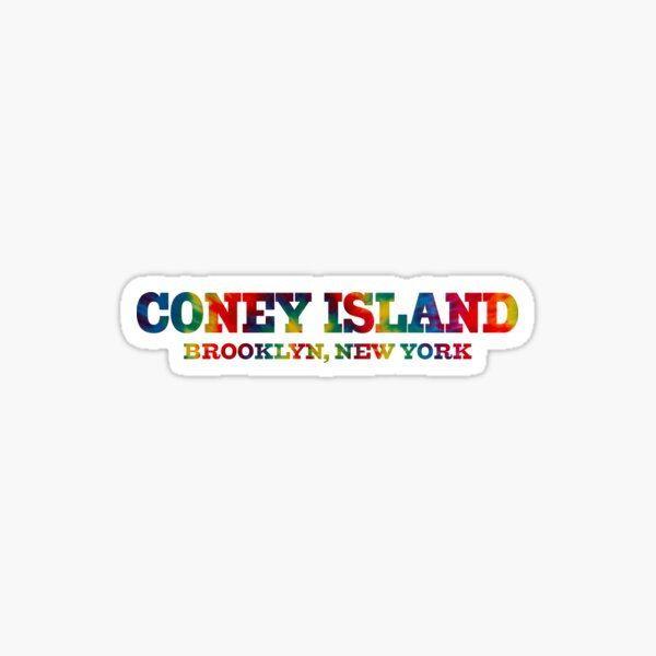 Coney Island New York Sticker
