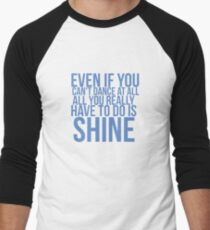 Even if... Quote Square Baseball ¾ Sleeve T-Shirt