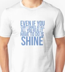 Even if... Quote Square Unisex T-Shirt