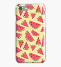 Watermelon slices pattern iPhone Case/Skin