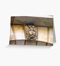 Lion watch ! Greeting Card