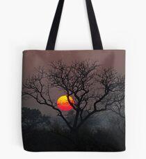 Sunset At Londolozi Tote Bag