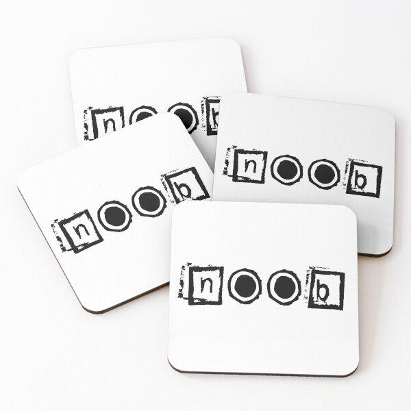 Noob Player Coasters (Set of 4)