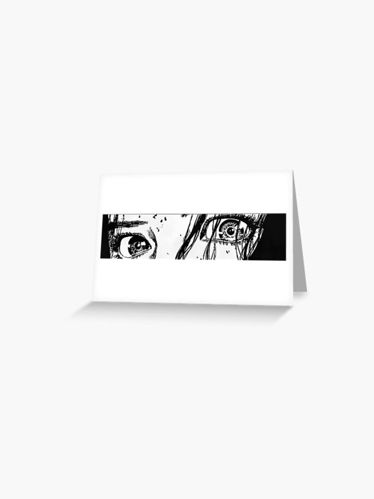 Aesthetic Anime Eyes Greeting Card By Linkrocks7 Redbubble