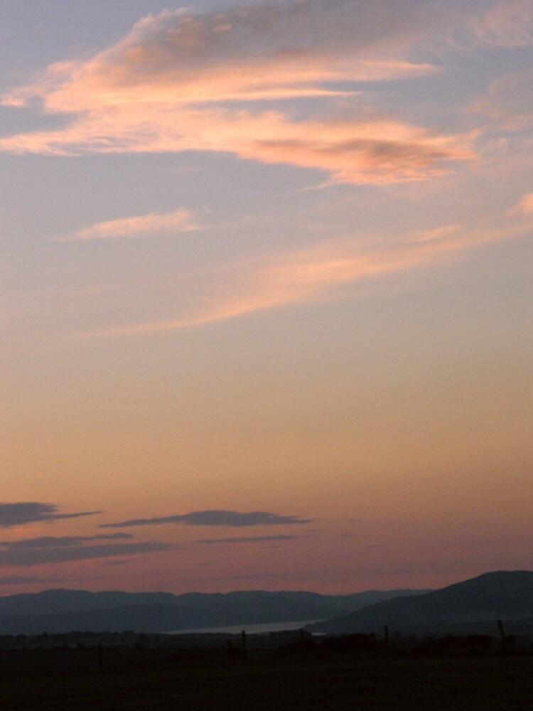 summer sky - Derry Ireland by mikequigley
