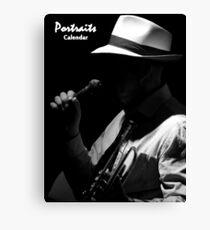 Portraits Calendar Cover Canvas Print