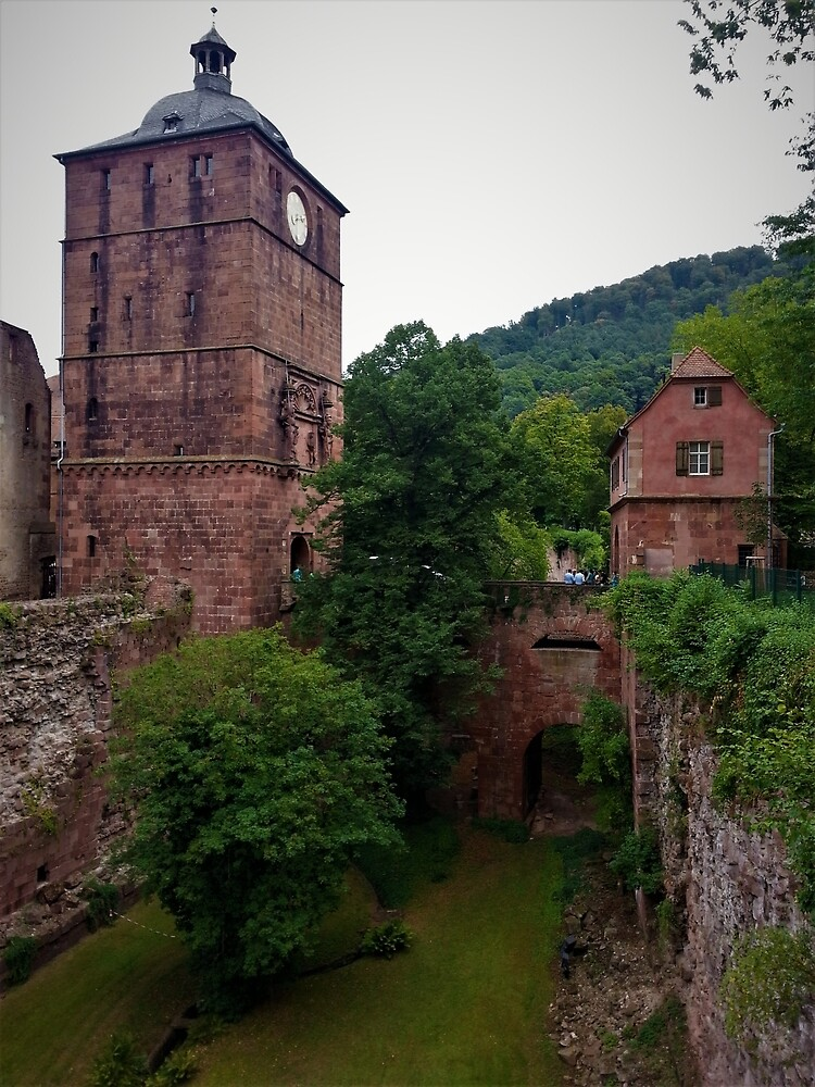 Schloss Heidelberg Entrance by tomeoftrovius