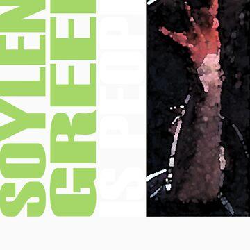 Soylent Green - dark Tee  by derty