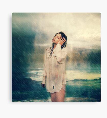 Rain storms Canvas Print