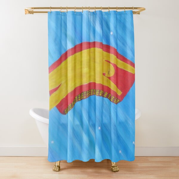 Look up in the Sky Tonight Shower Curtain