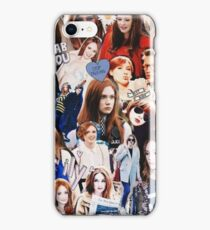 Karen Gillan iPhone Case/Skin