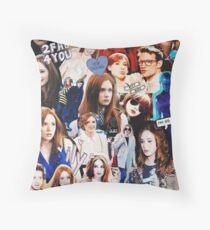 Karen Gillan Throw Pillow