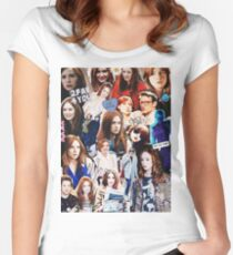Karen Gillan Women's Fitted Scoop T-Shirt