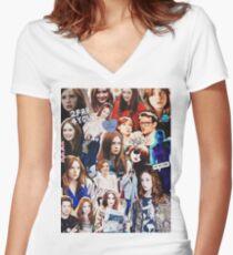 Karen Gillan Women's Fitted V-Neck T-Shirt