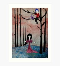 Filled with love Art Print