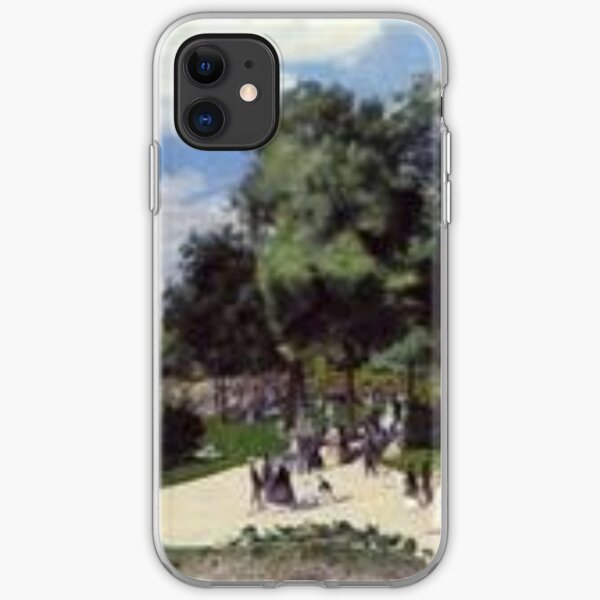 Renoir - the champs elysees during the paris fair of iPhone Soft Case