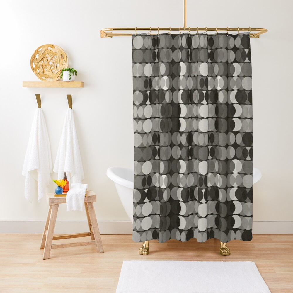 Grisailles Shower Curtain