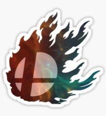 Smash Ball Nebula Sticker