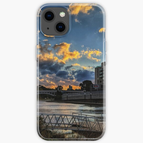 Twilight by the Yarra iPhone Soft Case
