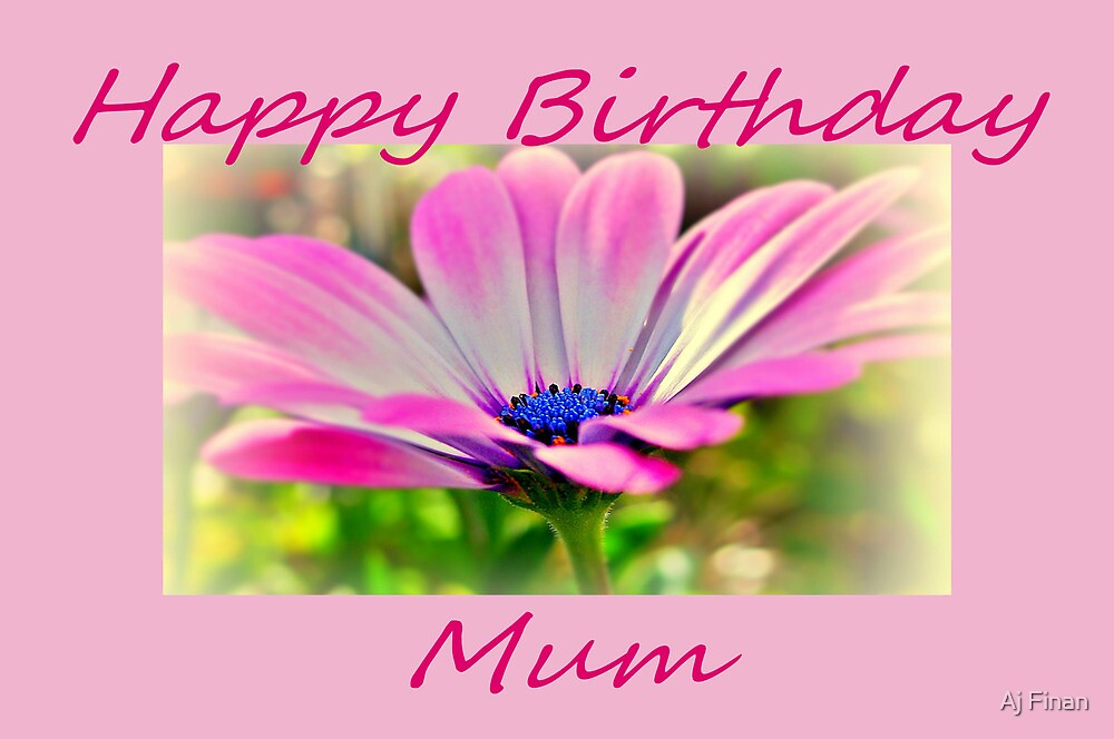 Just For Mum. by Aj Finan
