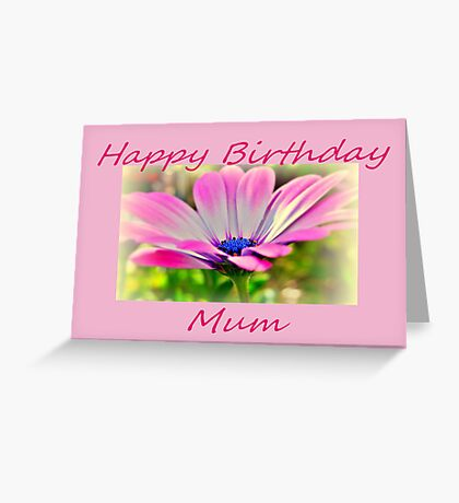 Just For Mum. Greeting Card